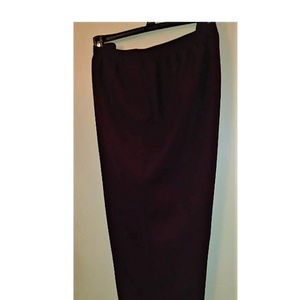 Alfred Dunner Plum Pullon Pants